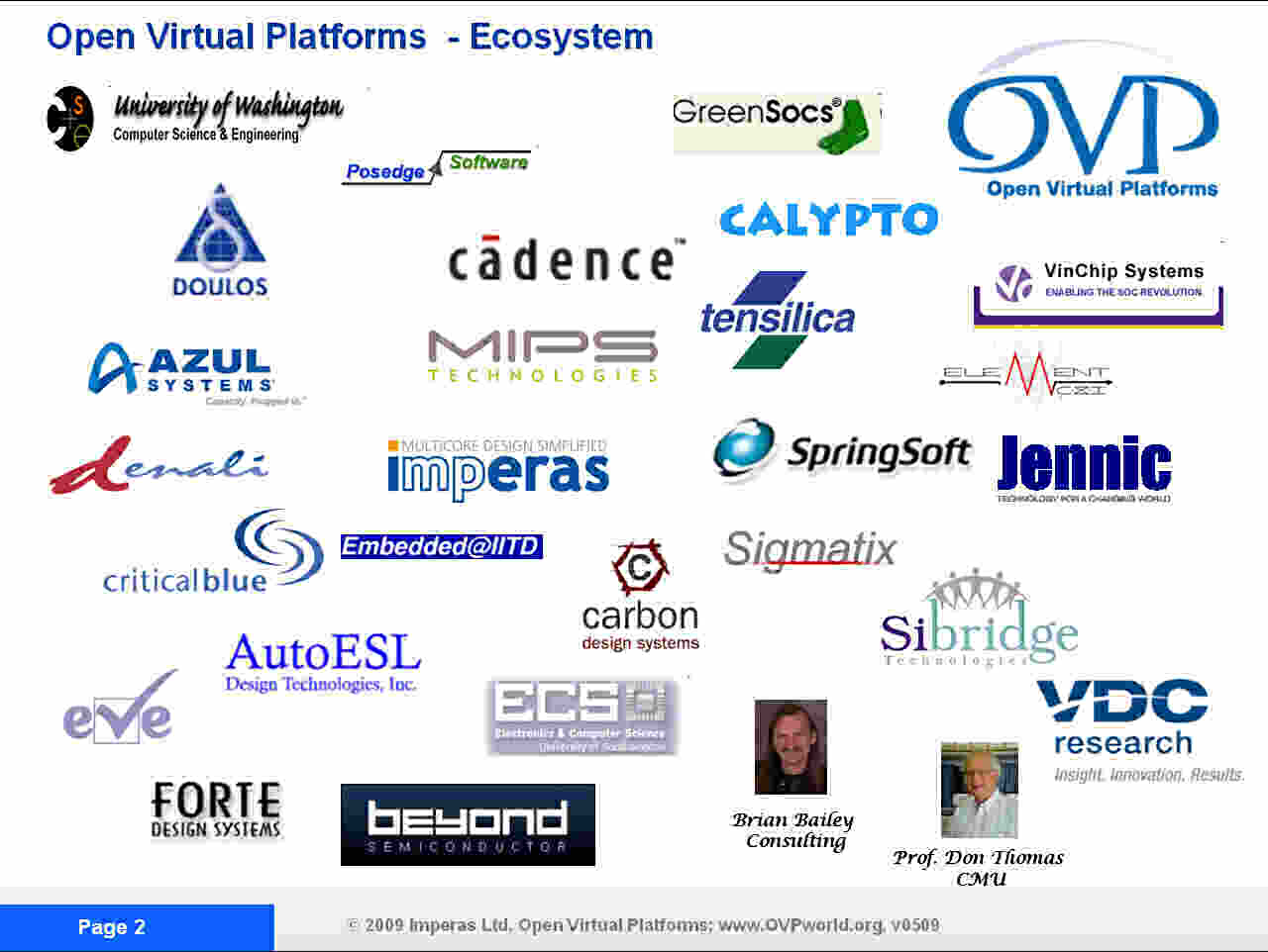 graphic: OVP a growing ecosystem is developing...