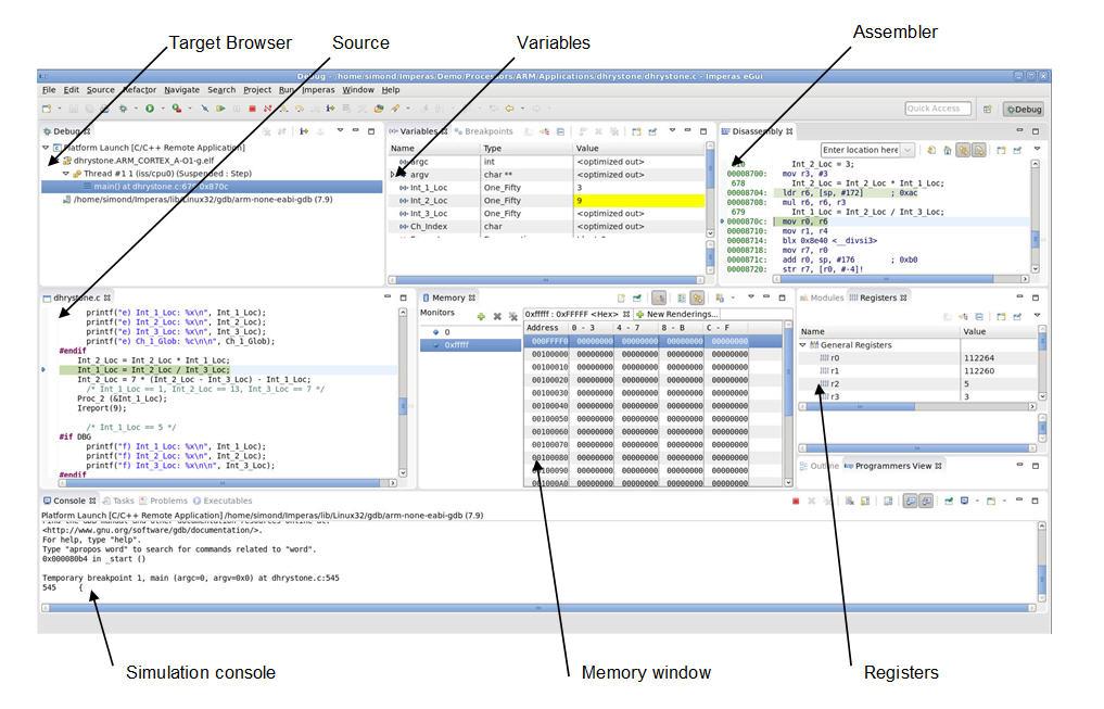 graphic: OVP eGui debugger GUI...