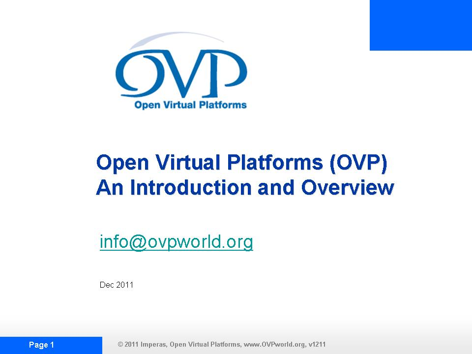 OVP OVPINTRO2 Slide Show