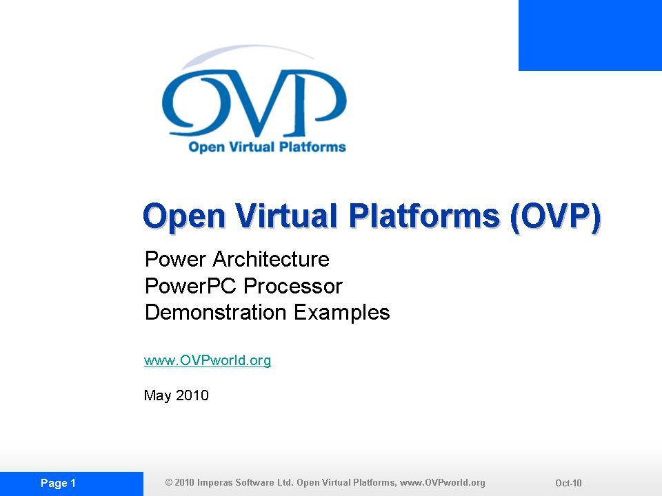 OVP PPCDEMO1 Slide Show