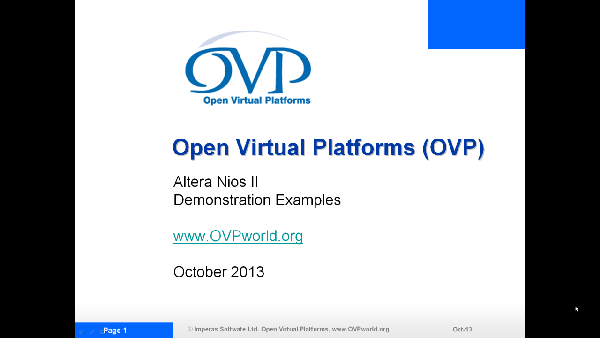 OVP Nios_II_1 Video