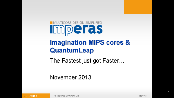 OVP QuantumLeap_MIPS Video